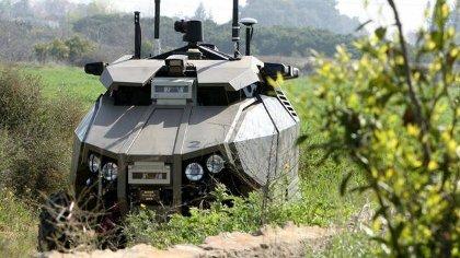 Israel Pakai Kendaraan Menakutkan Ini Untuk Jaga Perbatasan [ www.BlogApaAja.com ]