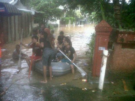 Bintaro, Jakarta Selatan, banjir