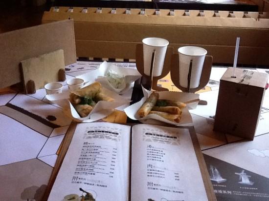 Unik! Taiwan Punya Restoran dari Karton