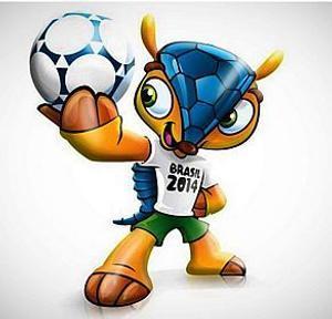 Inilah Fuleco, Maskot Piala Dunia Brasil 2014