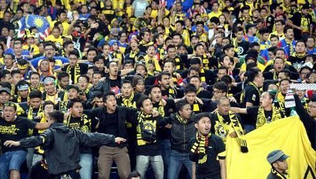 (VIDEO) SUPORTER MALAYSIA HINA INDONESIA DI YOUTUBE