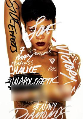 Foto Topless Rihanna
