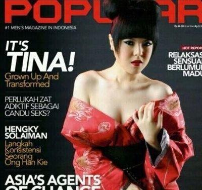 Foto Tina Toon Sexy di Majalah Dewasa