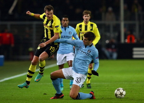 YOUTUBE MANCHESTER CITY VS DORTMUND 5/12/12 UCL