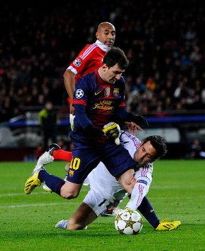 Barcelona vs Benfica