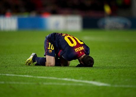 Cedera Messi Diperkirakan Tidak Serius
