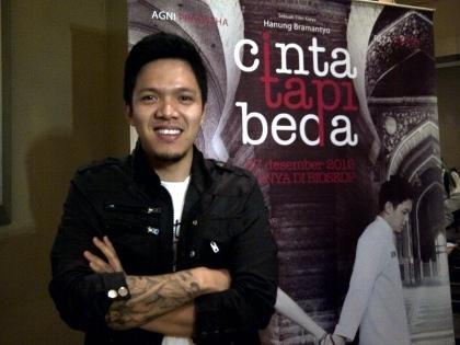 Reza Nangin, pemeran Cahyo dalam film