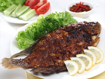 Resep Ikan: Gurami Bakar Kecap