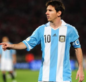 Penghargaan Atlet Argentina Terbaik 2012, Messi Cuma Nomor Tiga