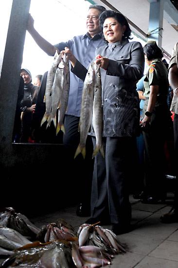 SBY Blusukan ke Tangerang