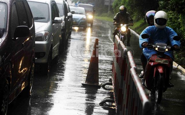 Banjir, Sepeda Motor Diizinkan Masuk Tol