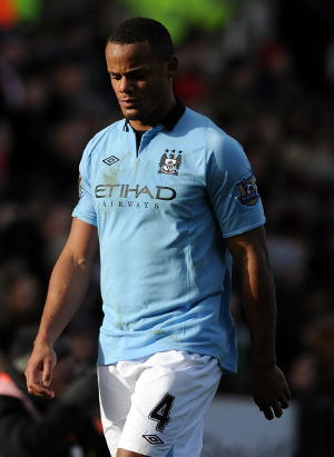 Kompany Threatened Absent Against Liverpool