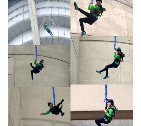Song Ji Hyo Jump From 233 Meter Building