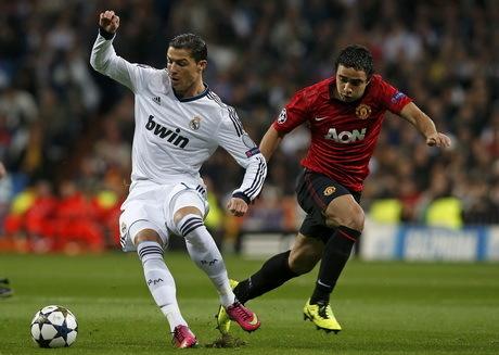 Madrid-MU Sama Kuat 1-1
