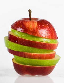 Apel dan Pepaya Ampuh Turunkan Kadar Kolestrol
