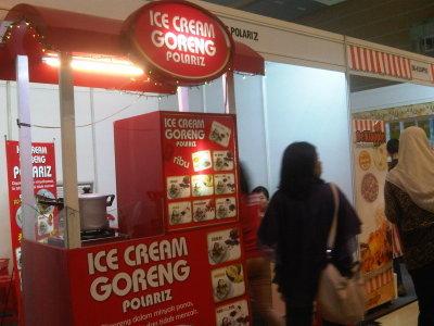 Peluang usaha Ice cream goreng