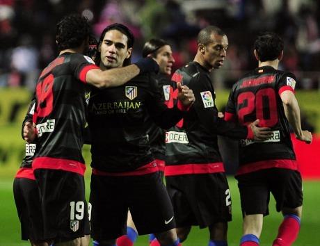 Pertandingan Sevilla vs Atletico Madrid