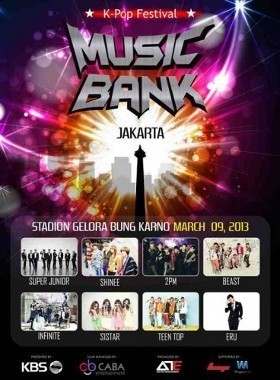VIDEO YOUTUBE KONSER MUSIC BANK JAKARTA 2013 Foto Music Bank Live World Tour Jakarta