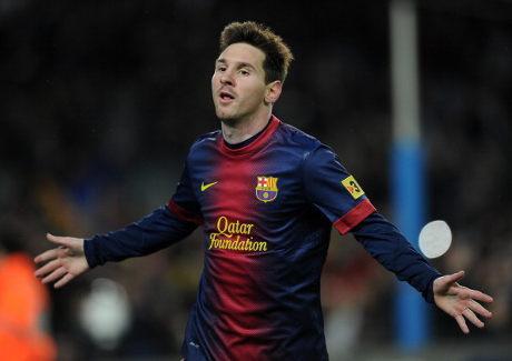 Messi Memang Alien