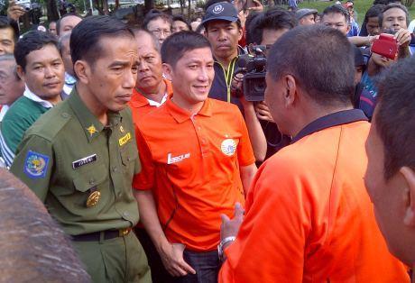 Jokowi Minta Persija Tidak Sampai Terdegradasi