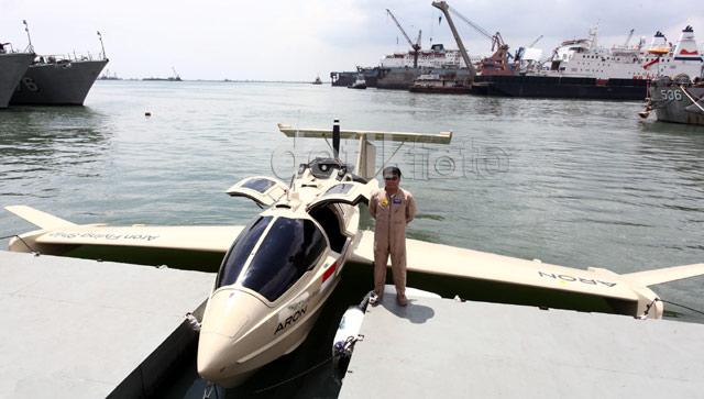 Ini Dia Pesawat Amfibi TNI AL