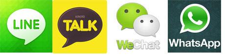 Adu Keren WhatsApp, Line, Kakao Talk & WeChat
