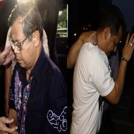 Dua orang dari tiga pelaku suap ditangkap KPK