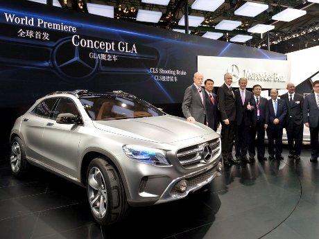 Mercy GLA concept 2013