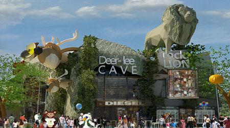 ... Jungleland Adventure Theme Park berada di Kawasan Sentul Nirwana