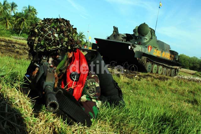 TNI Pamer Kecanggihan Alutsista di Depan SBY