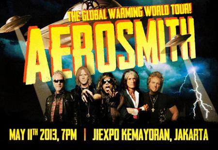 Konser Aerosmith dibatalkan