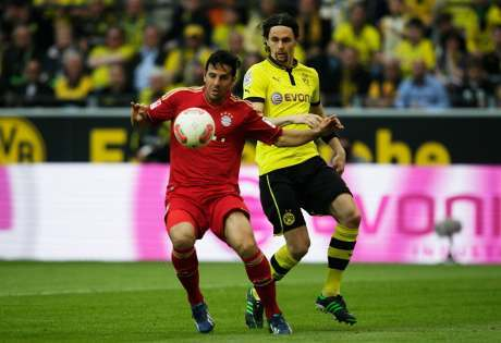 Dortmund vs Bayern Imbang 1-1