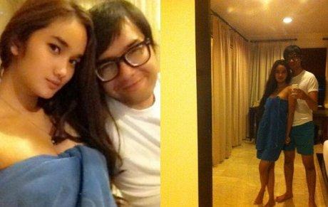 Foto Hot Faby Marcelia & Revand Narya
