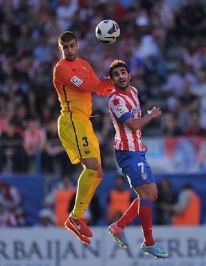 Akan Hadapi Madrid, Atletico Disemangati Pique & Vilanova