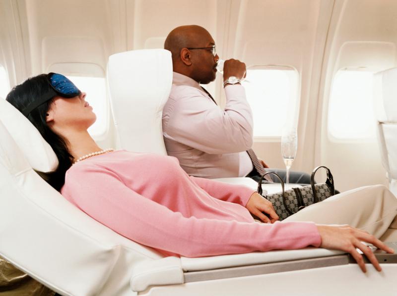 Benda yang bisa membuat rileks di pesawat