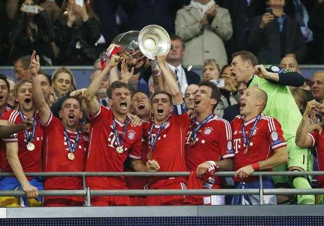 Gol Robben di menit 89 dan memberikan trofi kelima Bayern di kompetisi ini, setelah sebelumnya jadi kampiun di 1974, 1975, 1976 dan 2001.