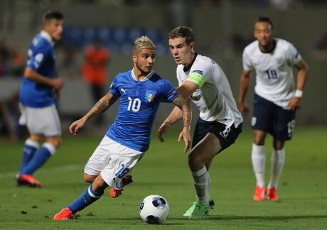 Inggris vs Italia Piala Eropa U-21