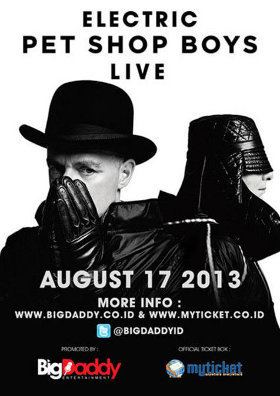 tur dunia Pet Shop Boys dalam rangka promo album Electric