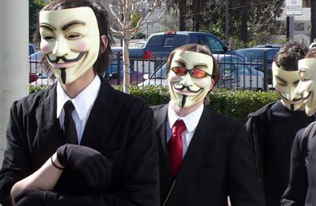 Anonymous Tak Mampu Lawan Korea Utara