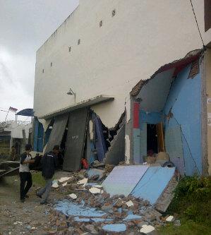 VIDEO GAMBAR GEMPA ACEH 2013 6,2 SR Youtube Gempa Bumi Aceh Rusak Parah