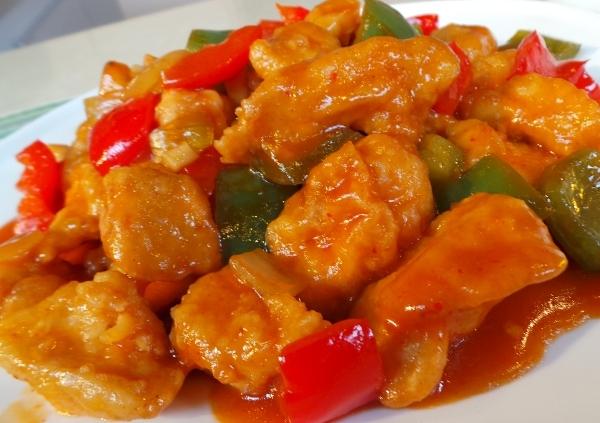 resep masakan indonesia   ayam asam manis lezat 1001