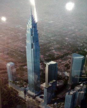 Info Proyek 2014, Pembangunan, Menara Tertinggi, Tomy Winata