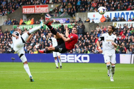 Swansea City vs Manchester United 2013