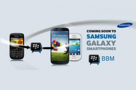 BlackBerry Messenger Siap Hadir di Samsung Galaxy