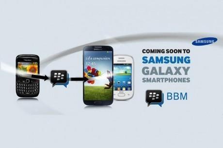 BlackBerry Messenger Siap Hadir di Samsung Galaxy