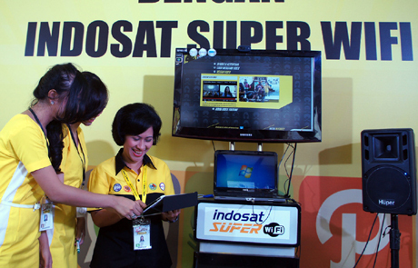 Indosat Kawal APEC di Bali dengan Super WiFi