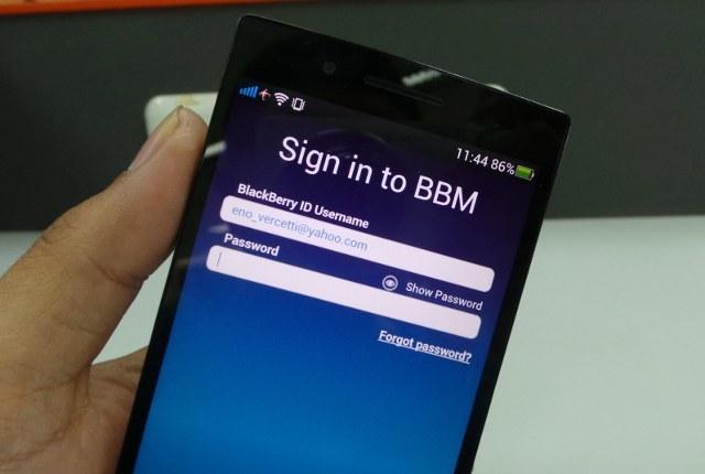 Ping! BBM untuk Android Bisa Digunakan, Tapi