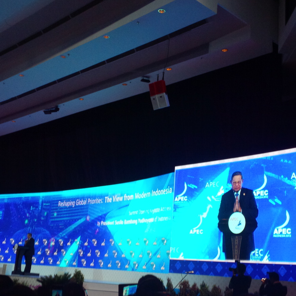 SBY Buka APEC CEO Summit 2013