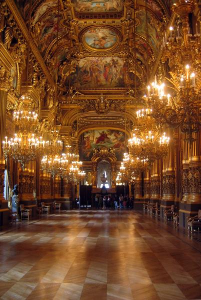 Paris Opera (Paris, Prancis)