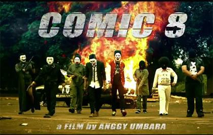 poster Comic 8 film